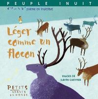 Léger comme un flocon : poème en inuktitut