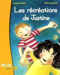 Les récréations de Justine