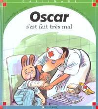 Oscar s'est fait très mal