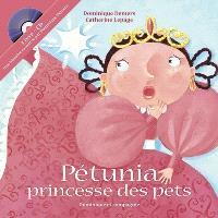 Pétunia, princesse des pets  : livre-CD