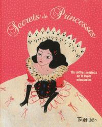 Secrets de princesses : un coffret précieux de 8 livres minuscules