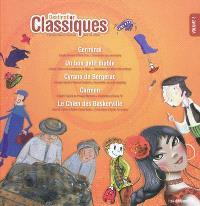 Destination classiques : 5 grandes oeuvres illustrées pour les enfants. Volume 3
