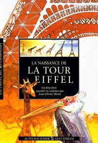 La naissance de la tour Eiffel : un frise-livre