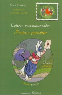 Lettres recommandées : fables = Posta e porositur : fabula