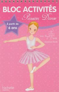 Bloc activités passion danse avec Agnès Letestu : à partir de 6 ans