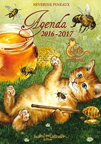 Agenda 2016-2017 : chats enchantés