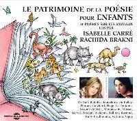 Le patrimoine de la poésie pour enfants : 31 poèmes sur les animaux
