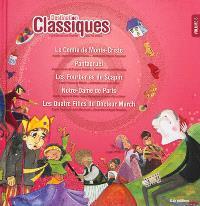 Destination classiques : 5 grandes oeuvres illustrées pour les enfants. Volume 6