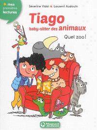 Tiago, baby-sitter des animaux. Volume 1, Quel zoo !