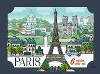 Paris : 6 cartes pop-up