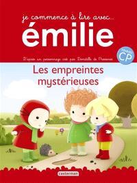 Je commence à lire avec Emilie. Volume 3, Les empreintes mystérieuses