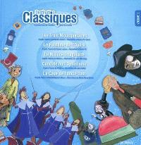 Destination classiques : 5 grandes oeuvres illustrées pour les enfants. Volume 2