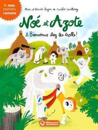 Noé et Azote. Volume 3, Bienvenue chez les trolls !