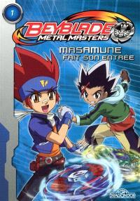 Beyblade metal master. Volume 1, Masamune fait son entrée