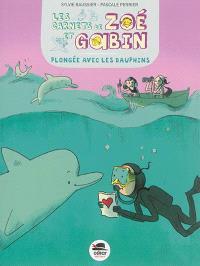 Les carnets de Zoé et Gabin, Plongée avec les dauphins