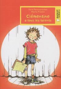 Clémentine a tous les talents