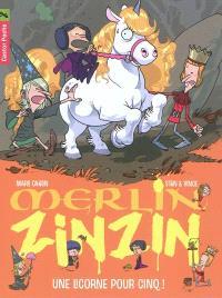 Merlin Zinzin. Volume 6, Une licorne pour cinq !