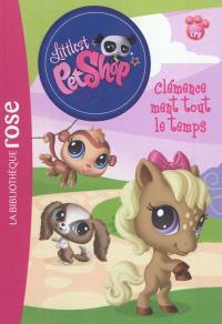 Littlest Petshop. Volume 9, Clémence ment tout le temps