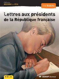 Lettres aux présidents de la République française