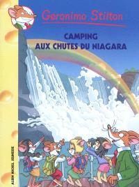 Geronimo Stilton. Volume 52, Camping aux chutes du Niagara