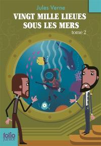 Vingt mille lieues sous les mers. Volume 2, Deuxième partie