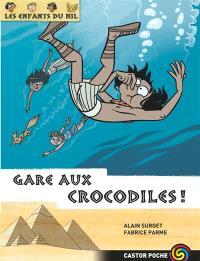 Les enfants du Nil. Volume 14, Gare aux crocodiles !