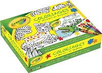 Coffret Crayola : coloriages et stickers en feutrine
