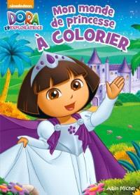 Mon monde de princesse à colorier