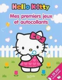 Hello Kitty, mes premiers jeux et autocollants