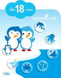 Les petits pingouins : autocollants : dès 18 mois