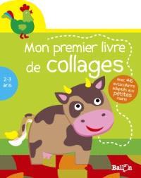 Mon premier livre de collages, 2-3 ans : vache