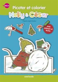 Nelly & César, Nelly & César, picoter et colorier