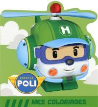Robocar Poli, mes coloriages : Héli