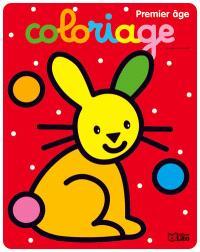Coloriage premier âge : le lapin