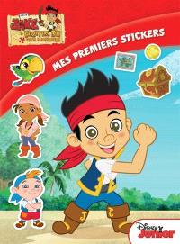 Jake et les pirates du pays imaginaire : mes premiers stickers