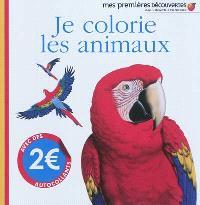 Je colorie les animaux