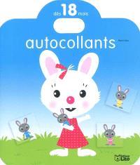 Le lapin : autocollants dès 18 mois
