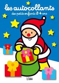 Le père Noël : bleu