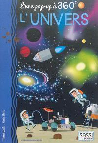 L'univers : livre pop-up à 360°