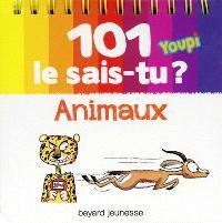 101 le sais-tu ? : animaux