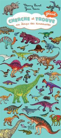 Cherche et trouve au temps des dinosaures : géant