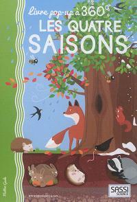 Les quatre saisons : livre pop-up à 360°