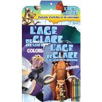 L'âge de glace, les lois de l'univers : pochette d'activités et de coloriages