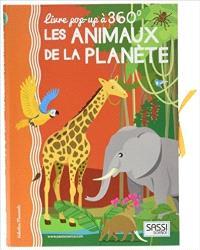Les animaux de la planète : livre pop-up à 360°