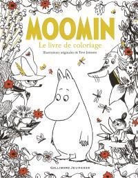 Moomin : le livre de coloriage