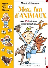Max, fan d'animaux