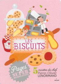 Les biscuits : 5 recettes du chef