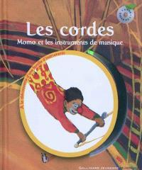 Les cordes : Momo et les instruments de musique