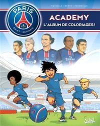 Paris Saint-Germain Academy : l'album de coloriages !