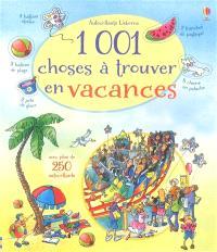 1.001 choses à trouver en vacances